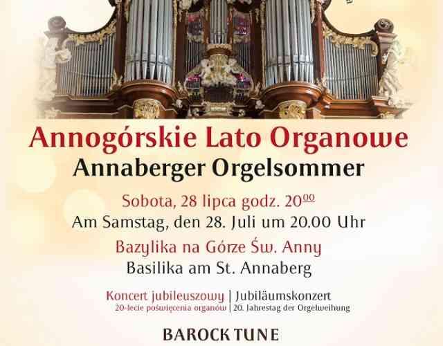 Serdecznie zapraszam do Gminy Leśnica na koncert w ramach Annogórskiego Lata Organowego, który odbędzie się 28 lipca 2018r. w Bazylice na Górze św. Anny